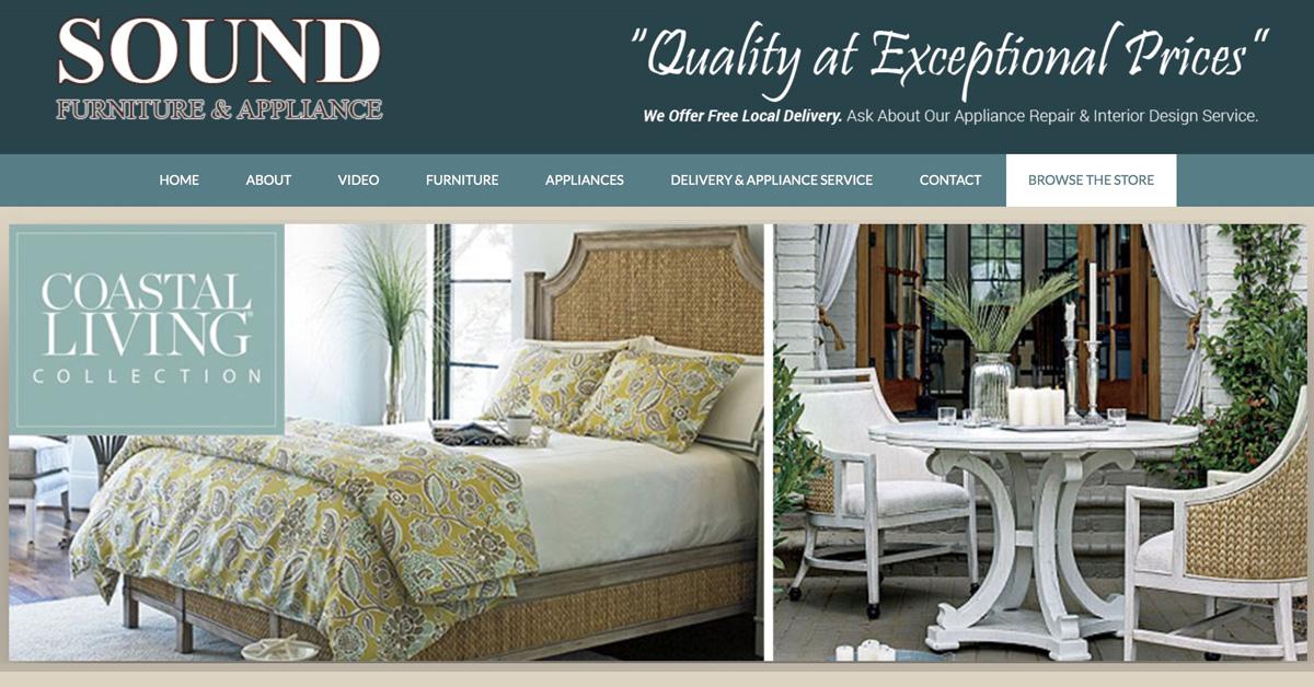Sound Furniture & Appliances Cedar Point NC Quality Furniture